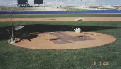 How to Build a Pitchers Mound ....and maintain it!