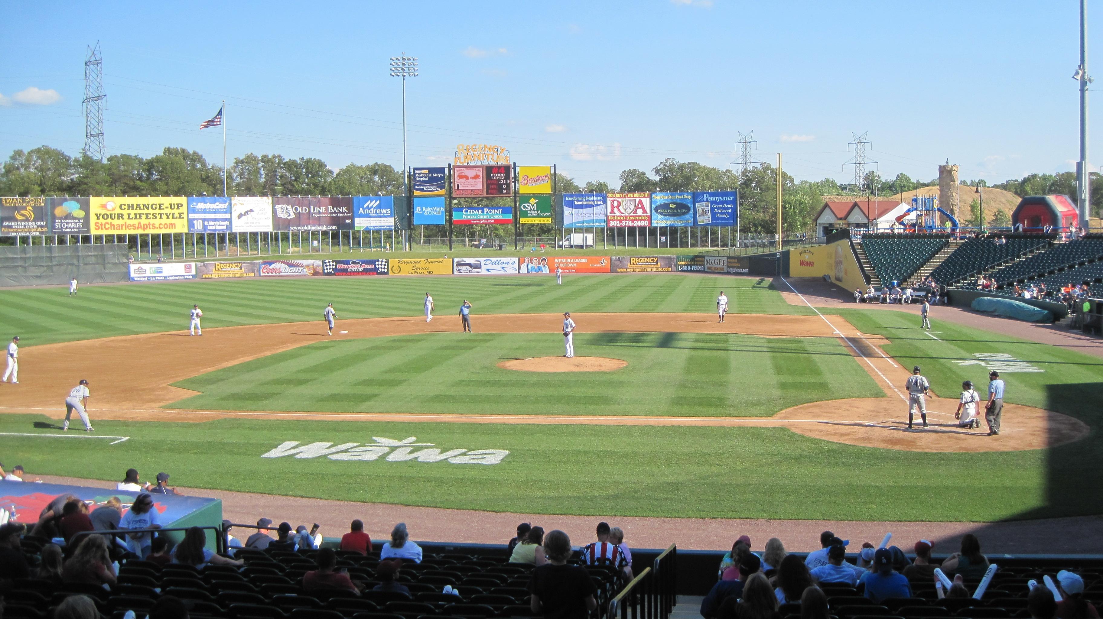 Southern Maryland Blue Crab Baseball 104