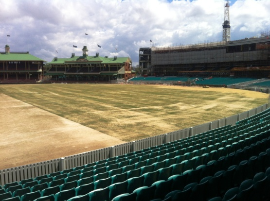 SCG topdressed