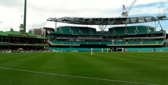SCG view from right center field
